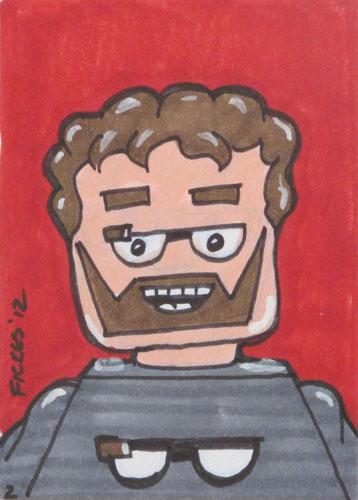 Sergey Brin Drawing.