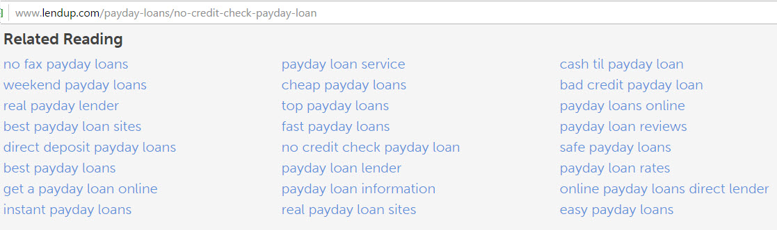 Google Ventures Invests in LendUp, Rethinks Payday Loan Doorway Pages
